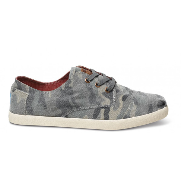 Toms Camo Canvas Men Paseos Outlet Coupons