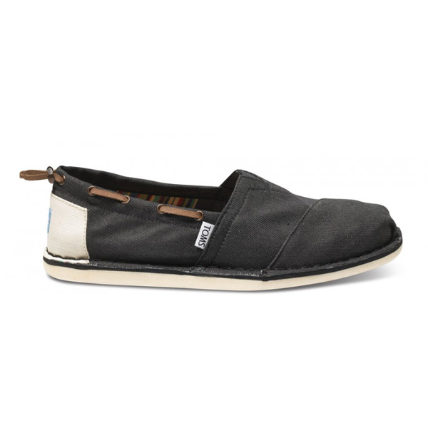Toms Black Denim Bimini Men Stitchouts Outlet Coupons