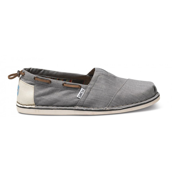 Toms Grey Denim Bimini Men Stitchouts Outlet Coupons
