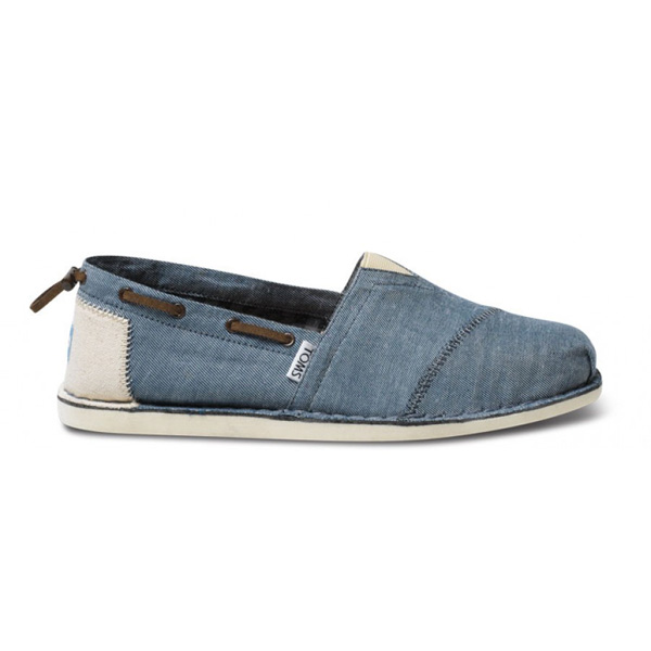 Toms Chambray Bimini Men Stitchouts Outlet Coupons