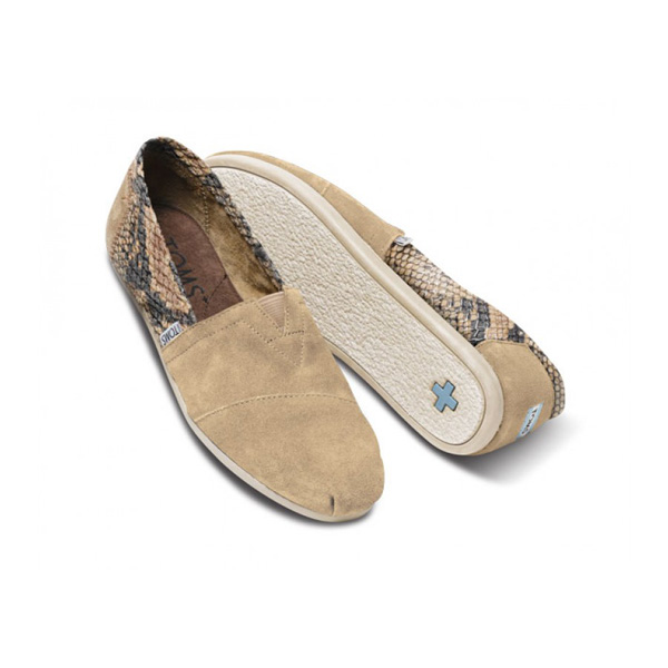 TOMS+ Desert Serpentine Men Classics Outlet Coupons