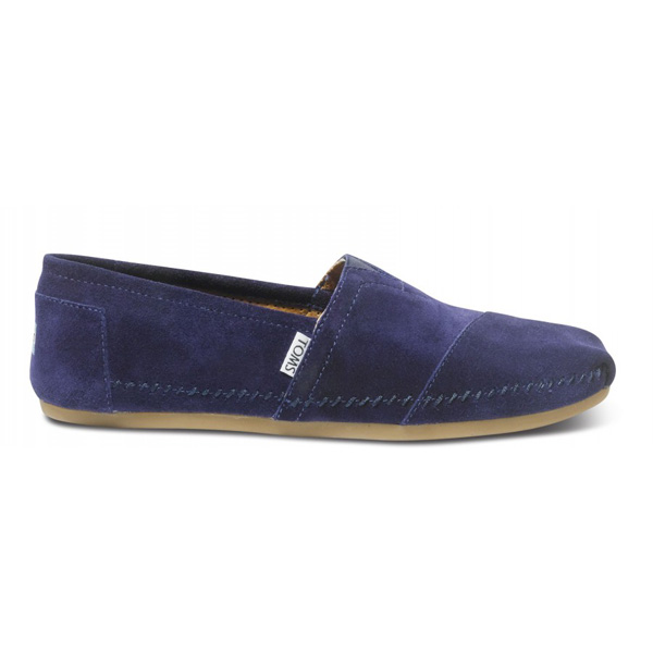 TOMS+ Navy Sitka Men Classics Outlet Coupons