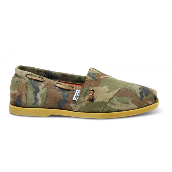 TOMS+ Camo Leather Men Biminis Outlet Coupons