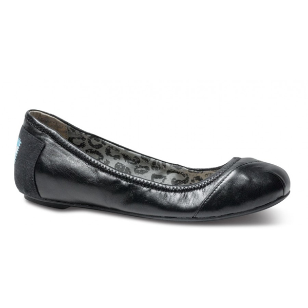 Toms Black Camila Ballet Flats Outlet Coupons