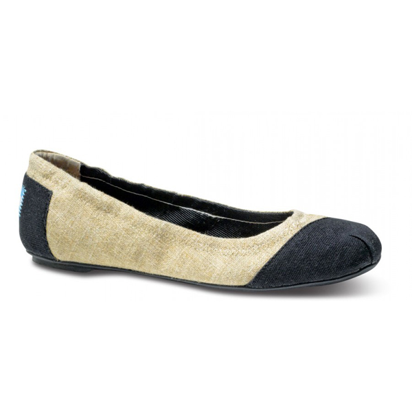 Toms Burlap Alessandra Ballet Flats Outlet Coupons