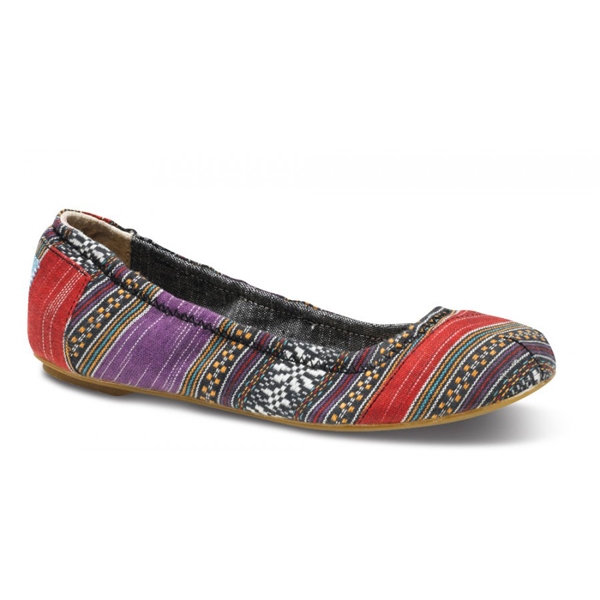 Toms Purple Lina Ballet Flats Outlet Coupons