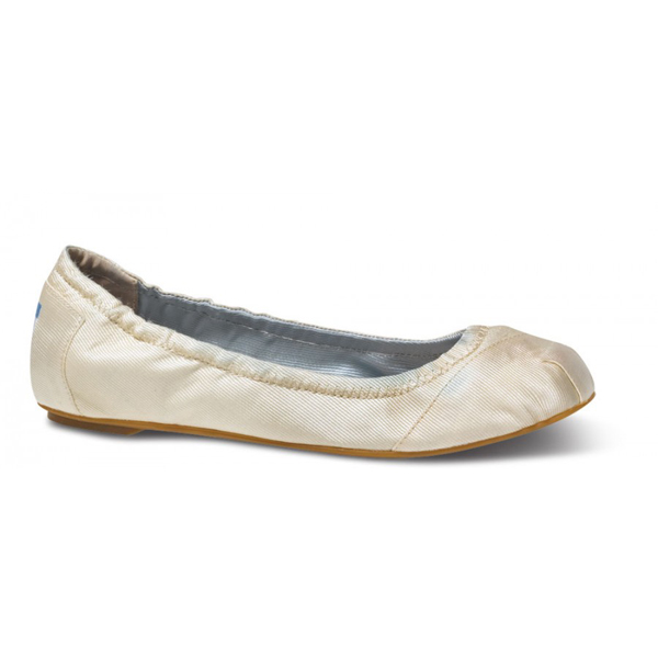 Toms Ivory Ballet Flats Outlet Coupons