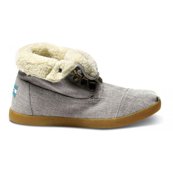 Toms Grey Hemp Women Highlands Botas Outlet Coupons