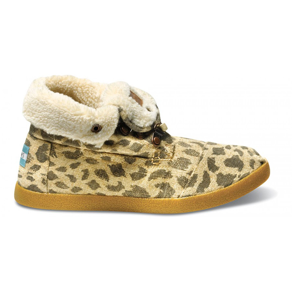Toms Leopard Burlap Women Highlands Botas Outlet Coupons
