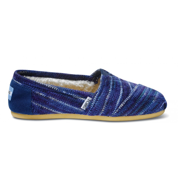 Toms Indigo Knit Women Classics Outlet Coupons