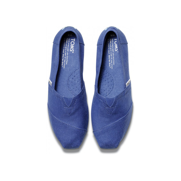 Toms Earthwise Cobalt Women Classics Outlet Coupons