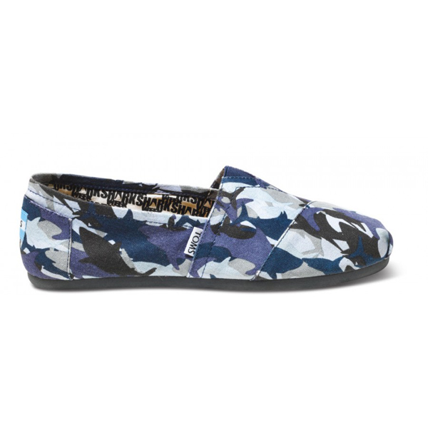 Toms Discovery Shark Camo Women Classics Outlet Coupons