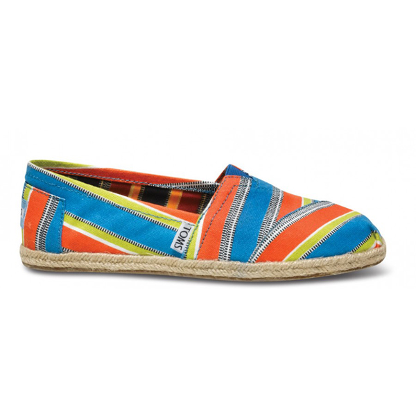 Toms ECI Stripe Women Classics Outlet Coupons