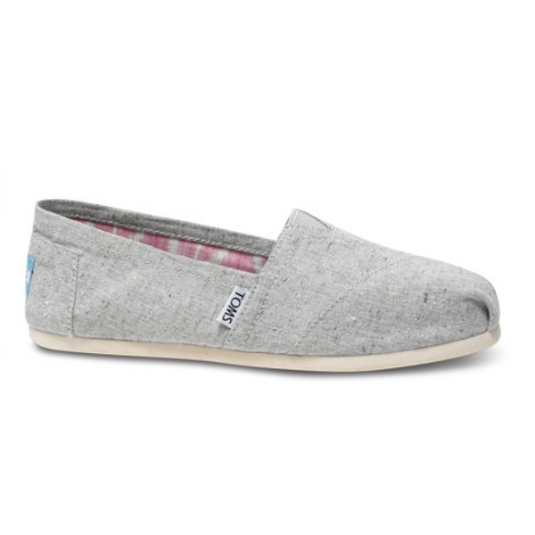 Toms Earthwise Grey Women Vegan Classics Outlet Coupons