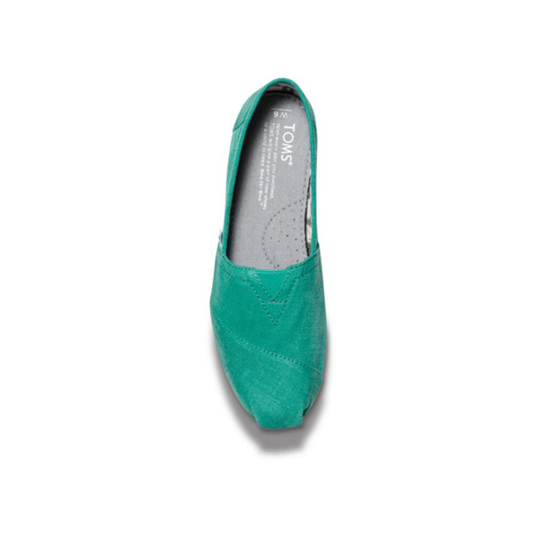Toms Earthwise Green Women Vegan Classics Outlet Coupons