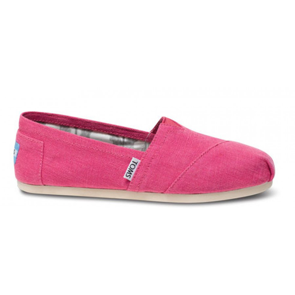 Toms Earthwise Pink Women Vegan Classics Outlet Coupons