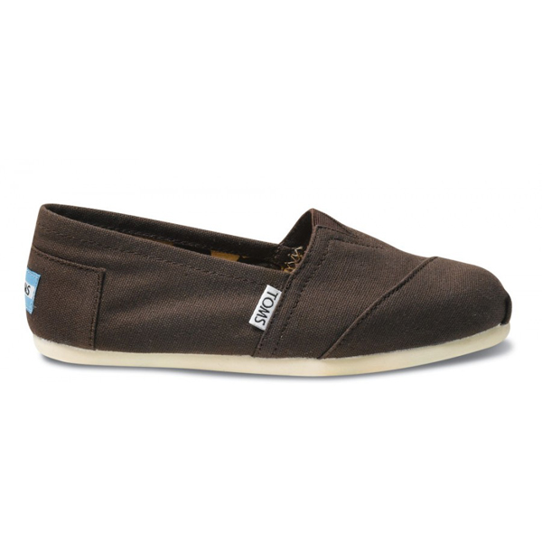 Toms Chocolate Canvas Women Classics Outlet Coupons