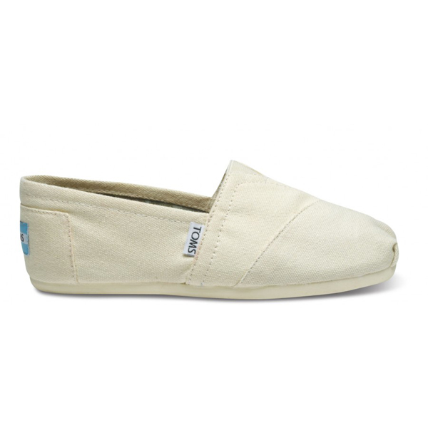Toms Natural Canvas Women Classics Outlet Coupons