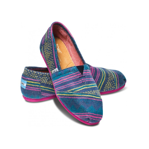Toms Blue Balkan Sunset Women Classics Outlet Coupons