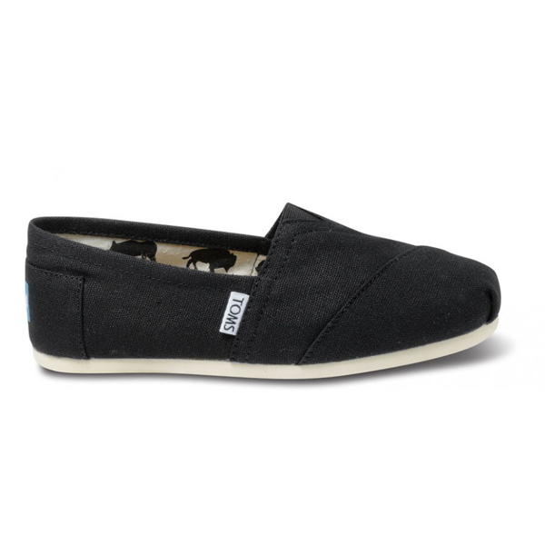 Toms Black Canvas Women Classics Outlet Coupons
