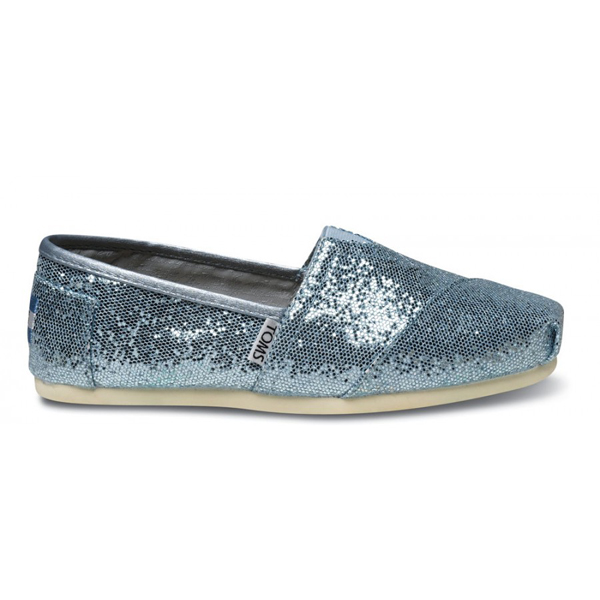 Toms Blue Women Glitters Outlet Coupons