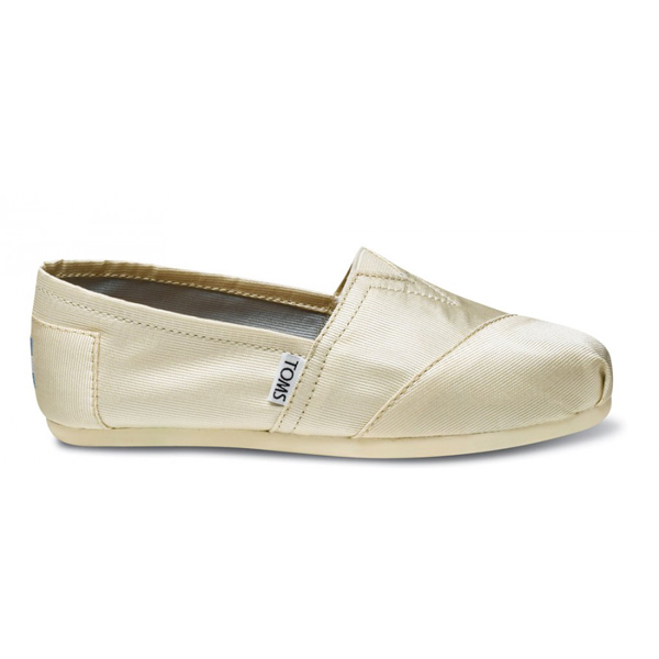 Toms Ivory Grosgrain Women Classics Outlet Coupons