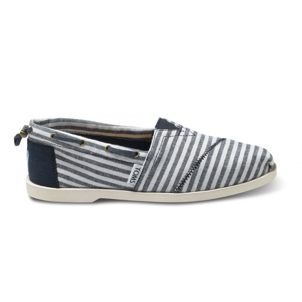 Toms Navy Stripe Nautical Women Biminis Outlet Coupons