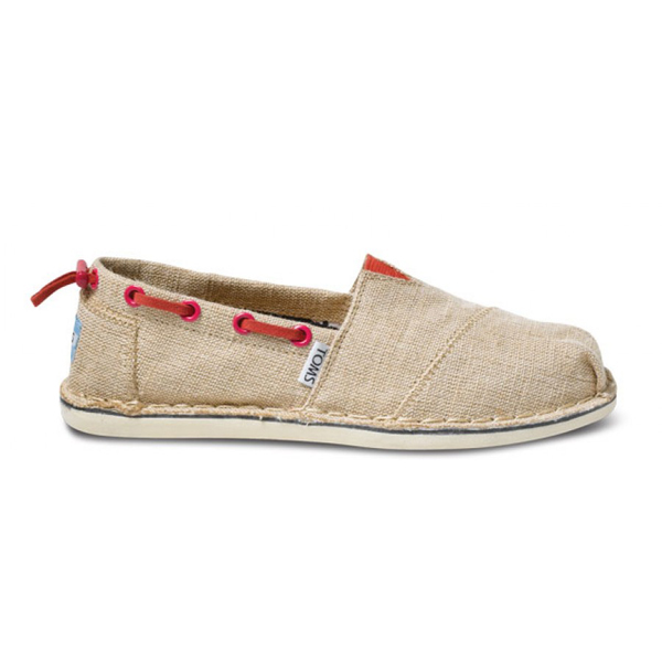 Toms Burlap Women Bimini Stitchouts Outlet Coupons