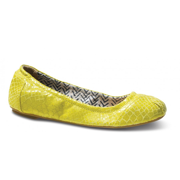 TOMS+ Yellow Serpentine Ballet Flats Outlet Coupons