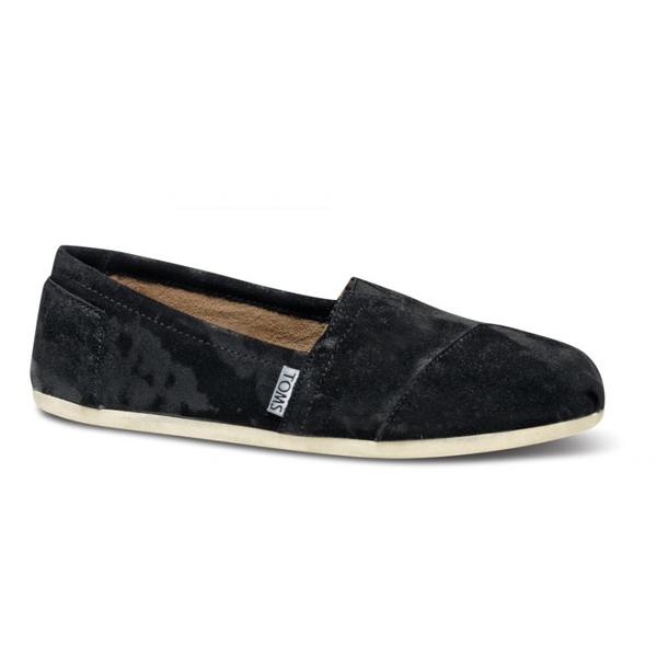 TOMS+ Black Brushed Metal Women Classics Outlet Coupons